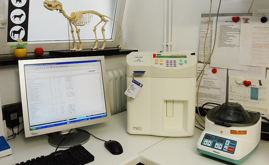 Unser hauseigenes Labor für schnelle Ergebnisse, auf die Sie warten können