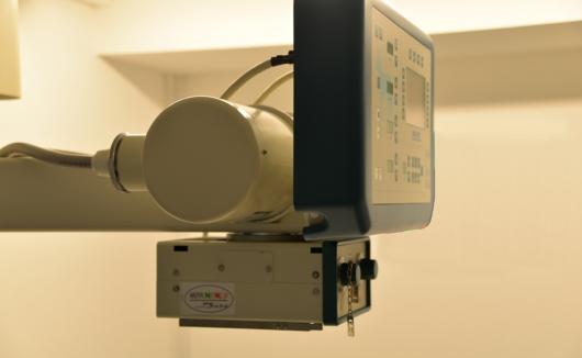 Unser digitales Röntgengerät - ein oft unentbehrliches Hilfsmittel in der Diagnostik