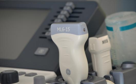 Hochmodernes Ultraschallgerät für den Ultraschall des Bauchraums und zur Diagnose von Herzfehlern und Herzerkrankungen